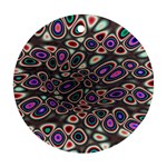 abstract_formula_wallpaper-387800 Round Ornament (Two Sides)
