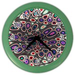 abstract_formula_wallpaper-387800 Color Wall Clock