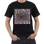 abstract_formula_wallpaper-387800 Black T-Shirt
