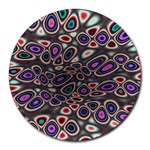 abstract_formula_wallpaper-387800 Round Mousepad