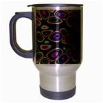 abstract_formula_wallpaper-387800 Travel Mug (Silver Gray)