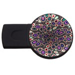 abstract_formula_wallpaper-387800 USB Flash Drive Round (4 GB)
