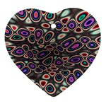 abstract_formula_wallpaper-387800 Heart Ornament (Two Sides)