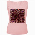abstract_formula_wallpaper-387800 Women s Pink Tank Top