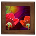 2_Shiny_Roses-77215 Framed Tile