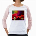 2_Shiny_Roses-77215 Girly Raglan