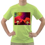2_Shiny_Roses-77215 Green T-Shirt