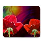 2_Shiny_Roses-77215 Large Mousepad