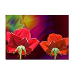2_Shiny_Roses-77215 Sticker (A4)