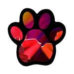 2_Shiny_Roses-77215 Magnet (Paw Print)
