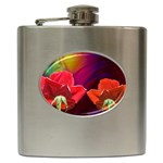2_Shiny_Roses-77215 Hip Flask (6 oz)