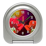 2_Shiny_Roses-77215 Travel Alarm Clock
