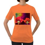 2_Shiny_Roses-77215 Women s Dark T-Shirt