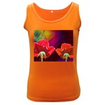 2_Shiny_Roses-77215 Women s Dark Tank Top