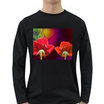 2_Shiny_Roses-77215 Long Sleeve Dark T-Shirt