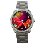 2_Shiny_Roses-77215 Sport Metal Watch
