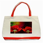 2_Shiny_Roses-77215 Classic Tote Bag (Red)