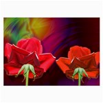 2_Shiny_Roses-77215 Glasses Cloth (Large)