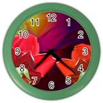 2_Shiny_Roses-77215 Color Wall Clock