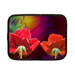2_Shiny_Roses-77215 Netbook Case (Small)