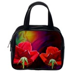 2_Shiny_Roses-77215 Classic Handbag (One Side)