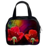 2_Shiny_Roses-77215 Classic Handbag (Two Sides)