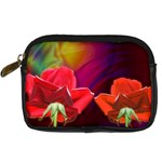 2_Shiny_Roses-77215 Digital Camera Leather Case