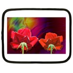 2_Shiny_Roses-77215 Netbook Case (XL)