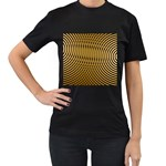 Easy%20rings%201-212003 Women s Black T-Shirt