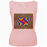 Disco-Party-Style-413640 Women s Pink Tank Top