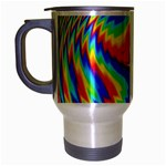 Disco-Party-Style-413640 Travel Mug (Silver Gray)
