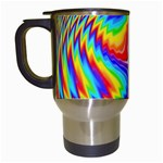 Disco-Party-Style-413640 Travel Mug (White)