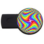 Disco-Party-Style-413640 USB Flash Drive Round (4 GB)