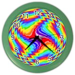 Disco-Party-Style-413640 Color Wall Clock