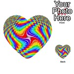 Disco-Party-Style-413640 Multi-purpose Cards (Heart)