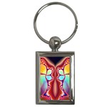 Cyber_Mirror-364694 Key Chain (Rectangle)