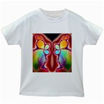 Cyber_Mirror-364694 Kids White T-Shirt