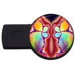 Cyber_Mirror-364694 USB Flash Drive Round (1 GB)
