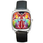 Cyber_Mirror-364694 Square Metal Watch