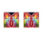 Cyber_Mirror-364694 Cufflinks (Square)