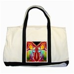 Cyber_Mirror-364694 Two Tone Tote Bag