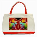 Cyber_Mirror-364694 Classic Tote Bag (Red)