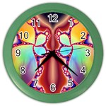 Cyber_Mirror-364694 Color Wall Clock