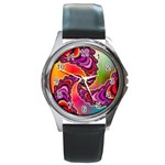 Cool_Fractal-818879 Round Metal Watch