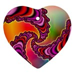 Cool_Fractal-818879 Ornament (Heart)