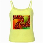 Cool_Fractal-818879 Yellow Spaghetti Tank