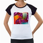 Cool_Fractal-818879 Women s Cap Sleeve T