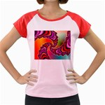 Cool_Fractal-818879 Women s Cap Sleeve T-Shirt