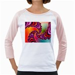 Cool_Fractal-818879 Girly Raglan