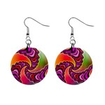 Cool_Fractal-818879 1  Button Earrings